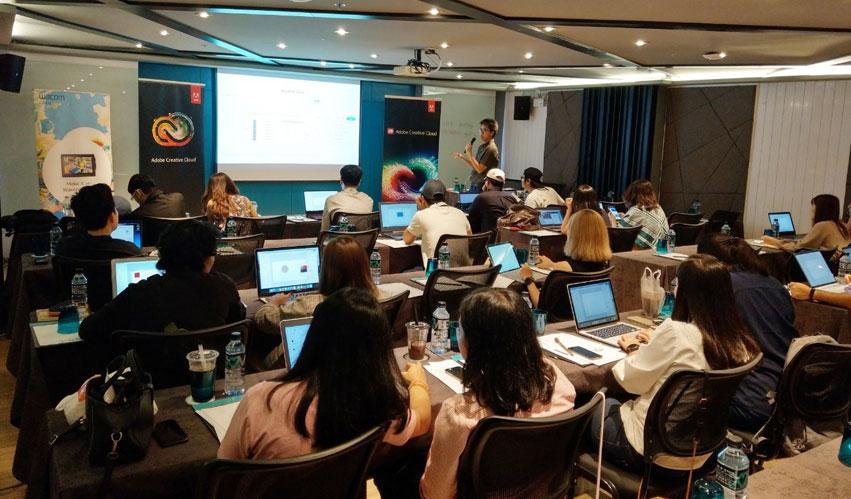 Adobe organized seminar on Smart Work Web Design with Adobe