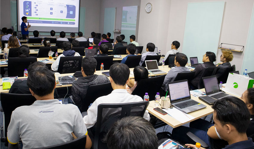 VST ECS (Thailand) join with Cisco Meraki organized product