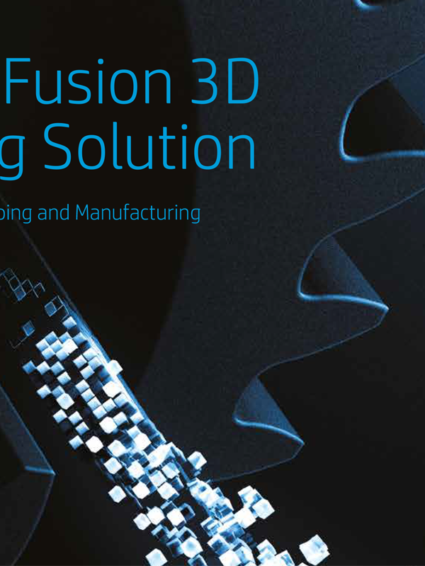 HP Jet Fusion 3D Printing Solutio
